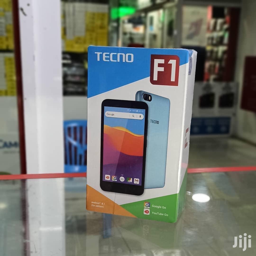 New Tecno F1 8 GB Black   Mobile Phones for sale in Kinondoni, Dar es Salaam, Tanzania