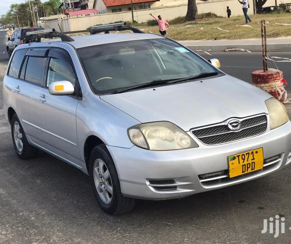 Archive: Toyota Corolla Fielder 2004 Silver
