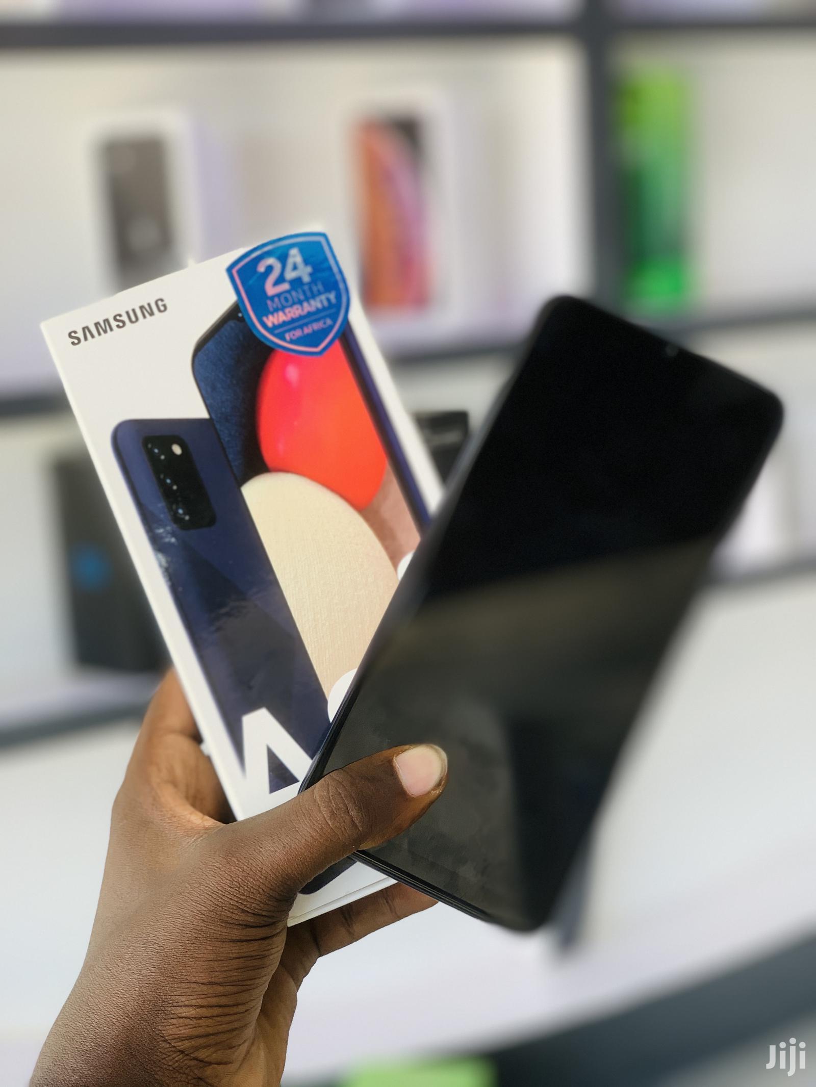 New Samsung Galaxy A02S 32 GB Black | Mobile Phones for sale in Kinondoni, Dar es Salaam, Tanzania