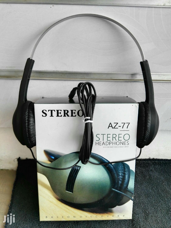 Az-77 Stereo Headphones | Headphones for sale in Temeke, Dar es Salaam, Tanzania