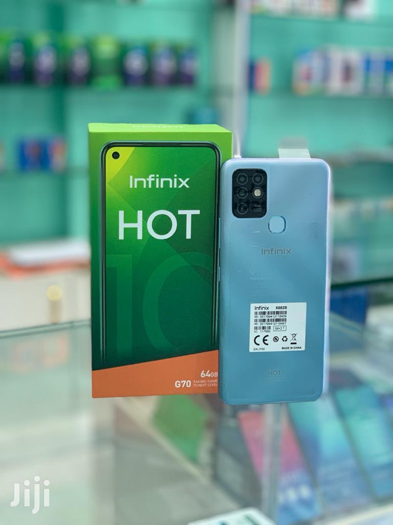 New Infinix Hot 10 64GB Blue