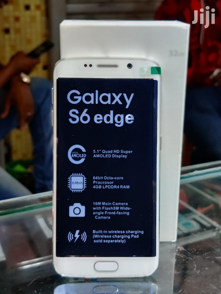 New Samsung Galaxy S6 edge 32 GB White | Mobile Phones for sale in Ilala, Dar es Salaam, Tanzania