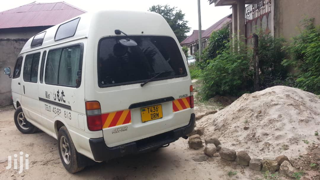 Archive: Toyota Hiace 1998 White For Sale