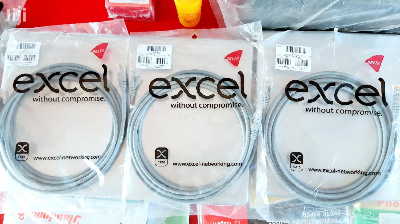 Archive: Cat6 UTP Excel Ethernet Cable 3M ORIGINAL