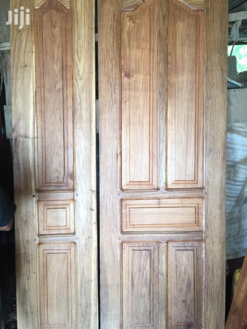 House Doors and Frames Made a Natural Timber   Furniture for sale in Kinondoni, Dar es Salaam, Tanzania