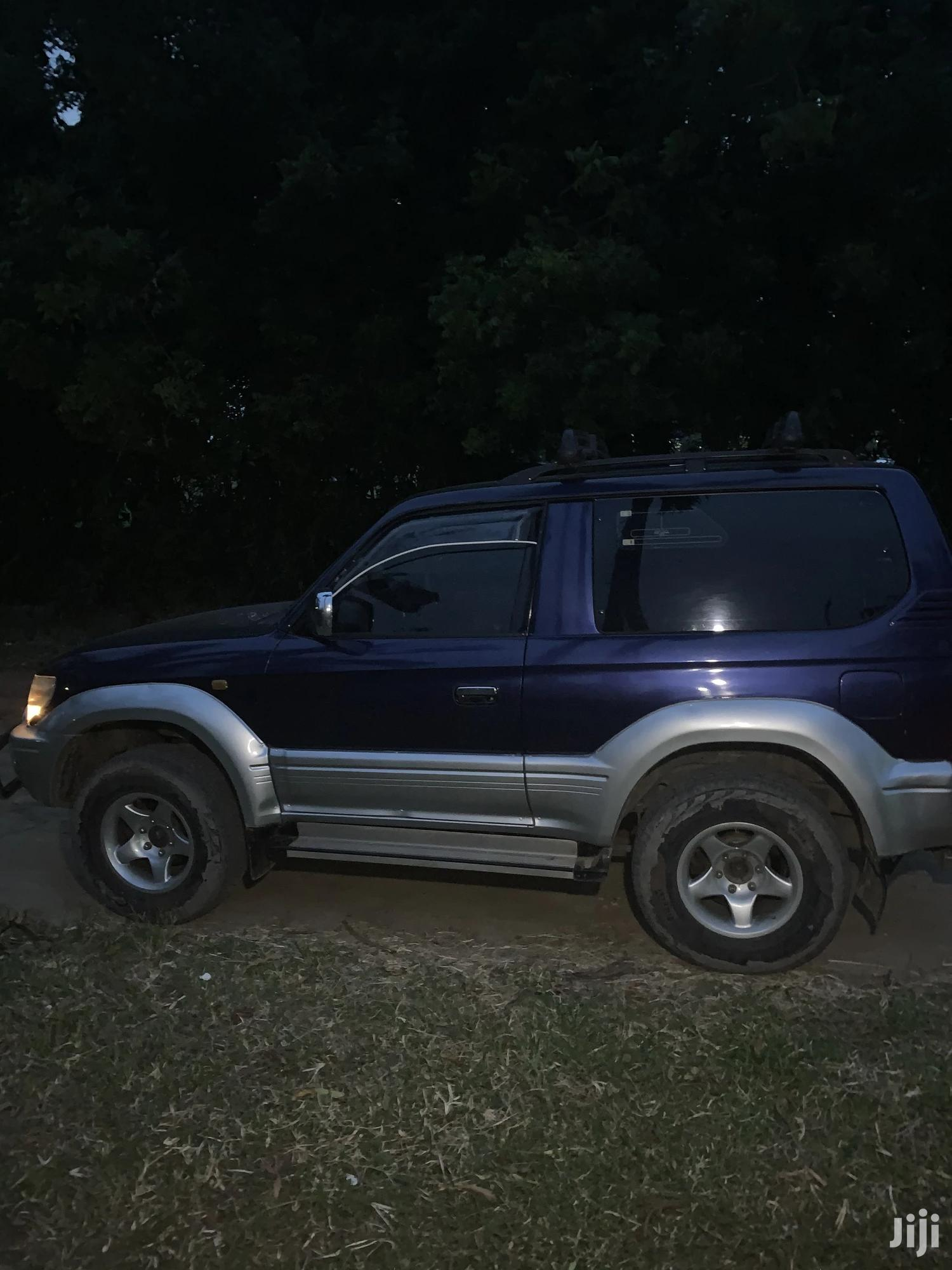 Archive: Toyota Land Cruiser Prado 1999 Blue