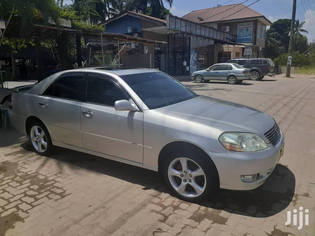 Archive: Toyota Mark II 2003 Silver