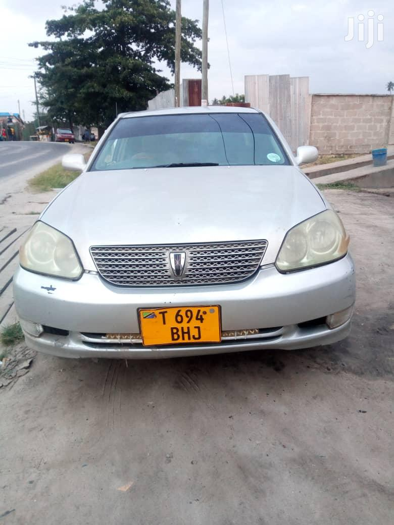 Archive: Toyota Mark II 2001 Silver