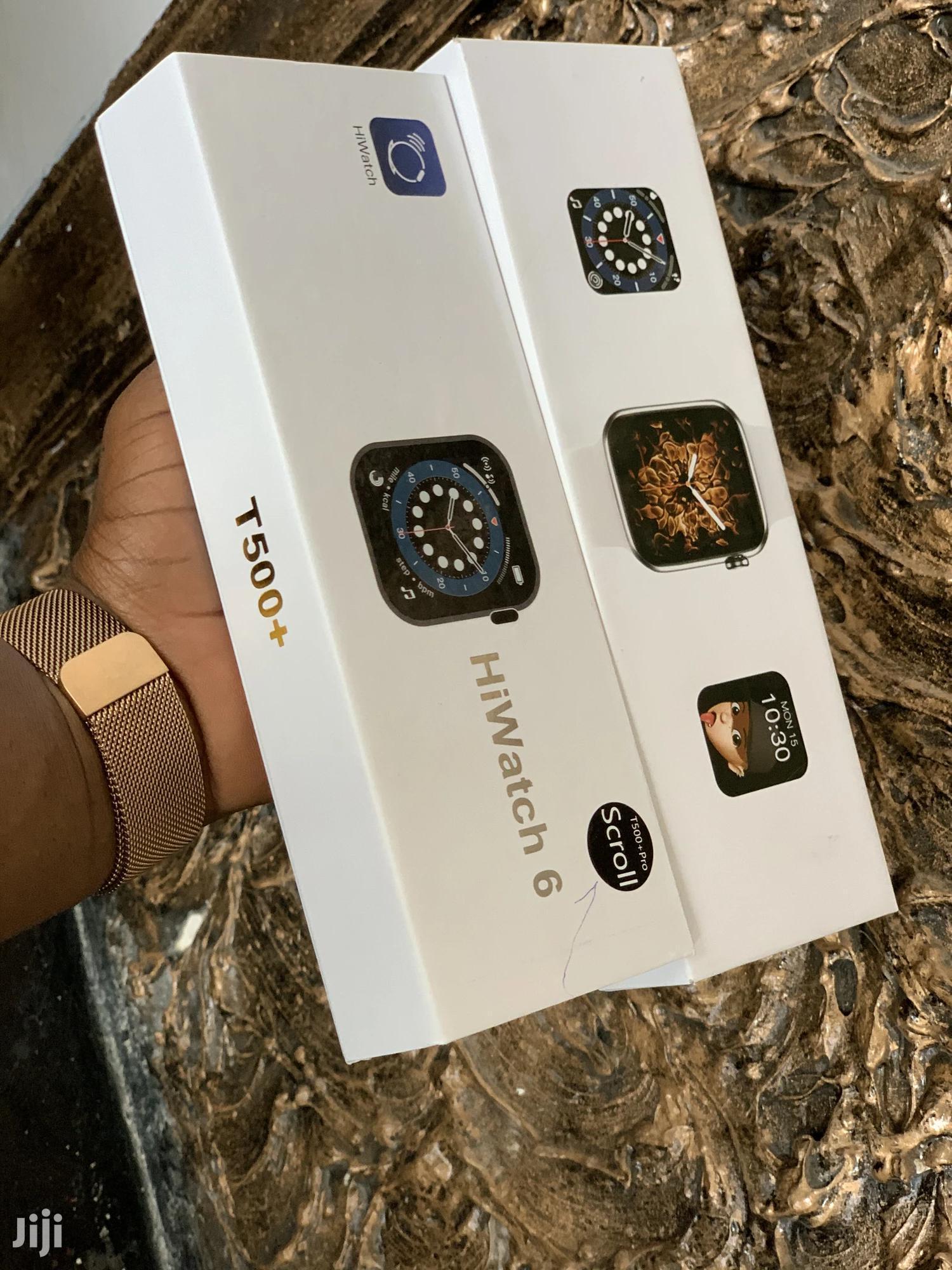 Smart Watch T500 Plus Pro   Smart Watches & Trackers for sale in Kinondoni, Dar es Salaam, Tanzania