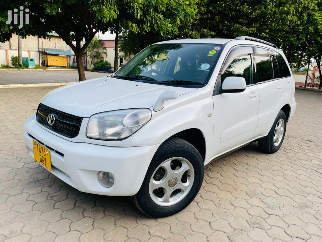 Toyota RAV4 2005 White | Cars for sale in Kinondoni, Dar es Salaam, Tanzania
