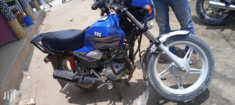 TVS Apache 180 RTR 2019 Blue