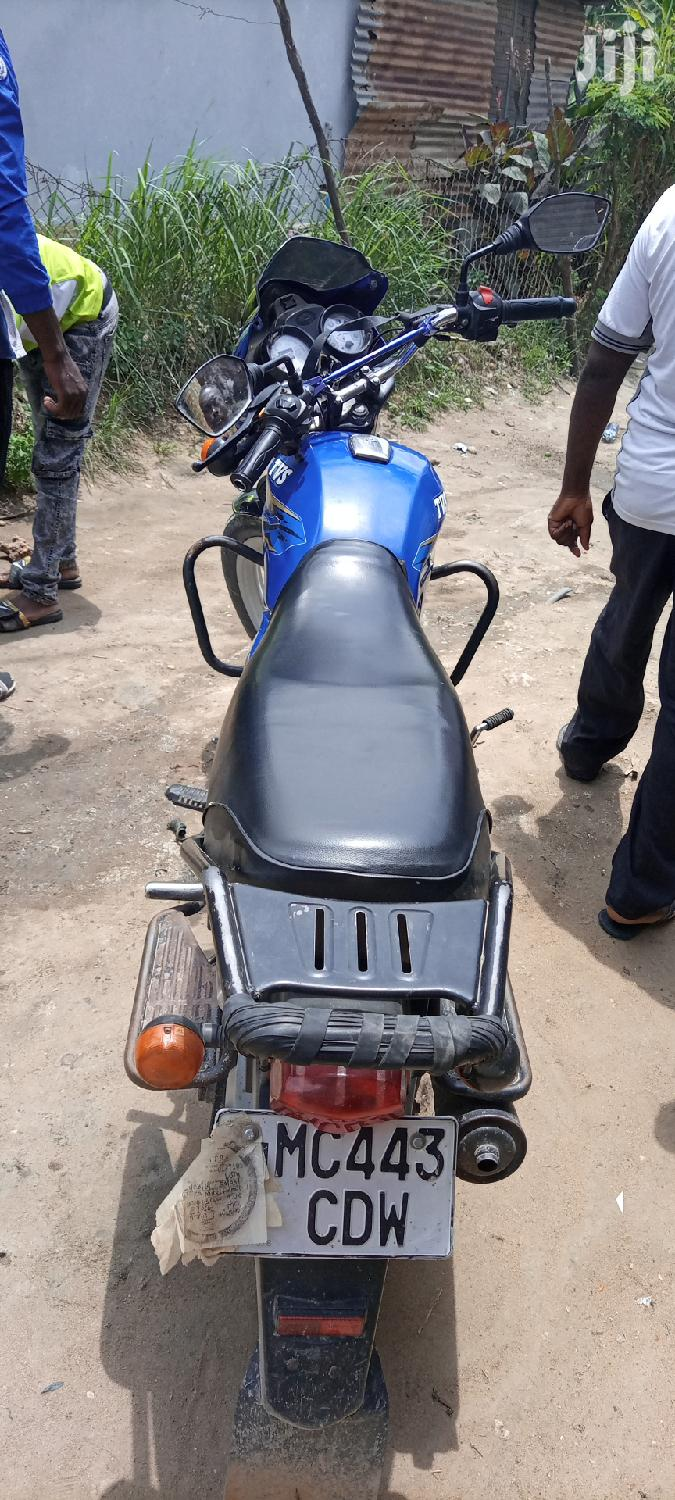 TVS Apache 180 RTR 2019 Blue | Motorcycles & Scooters for sale in Kinondoni, Dar es Salaam, Tanzania
