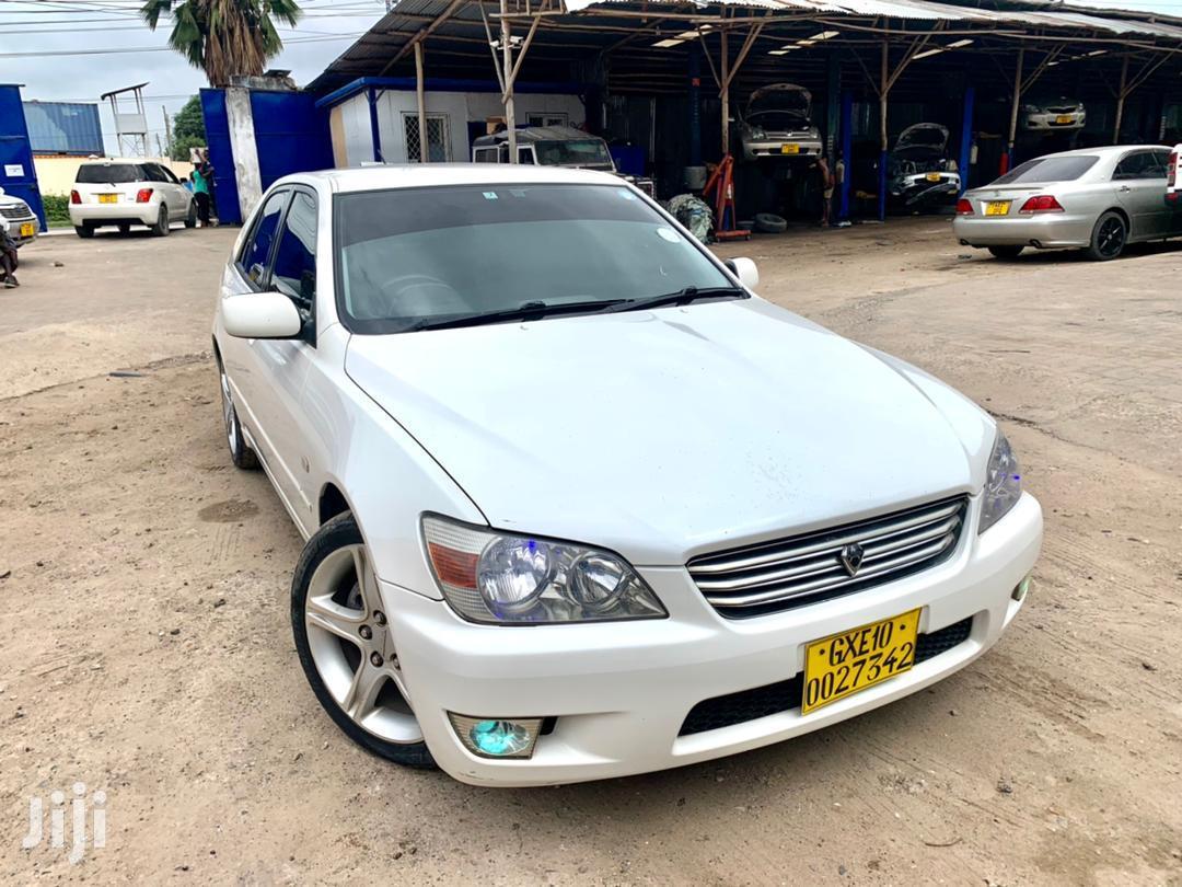 Archive: Toyota Altezza 2002 White