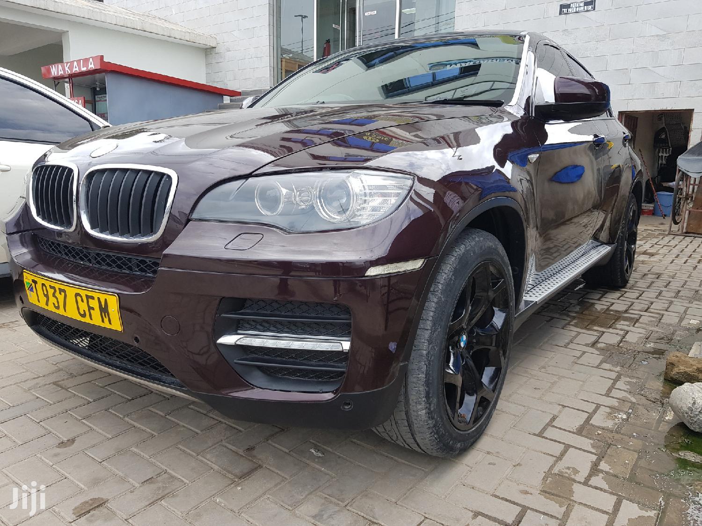 BMW X6 2009 Brown