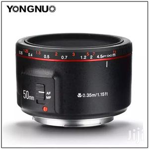 Yongnuo YN50MM F1.8 II Large Aperture AF/MF Lens | Accessories & Supplies for Electronics for sale in Dar es Salaam, Kinondoni