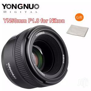 YONGNUO Yn50mm F1.8N Prime Lens Large Aperture AF/MF 4 Nikon | Accessories & Supplies for Electronics for sale in Dar es Salaam, Kinondoni
