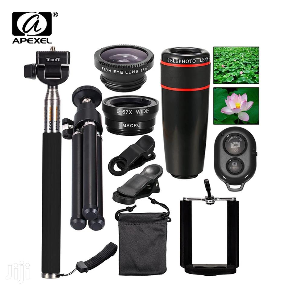 Travel Kit 10in1 Accessories Phone Camera Lens Kit Telescope