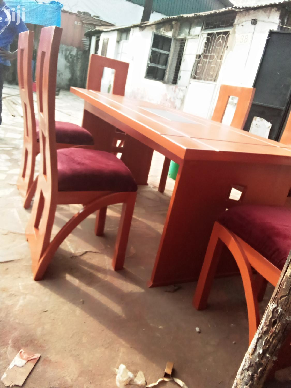 Dining Table And Chairs | Furniture for sale in Kinondoni, Dar es Salaam, Tanzania