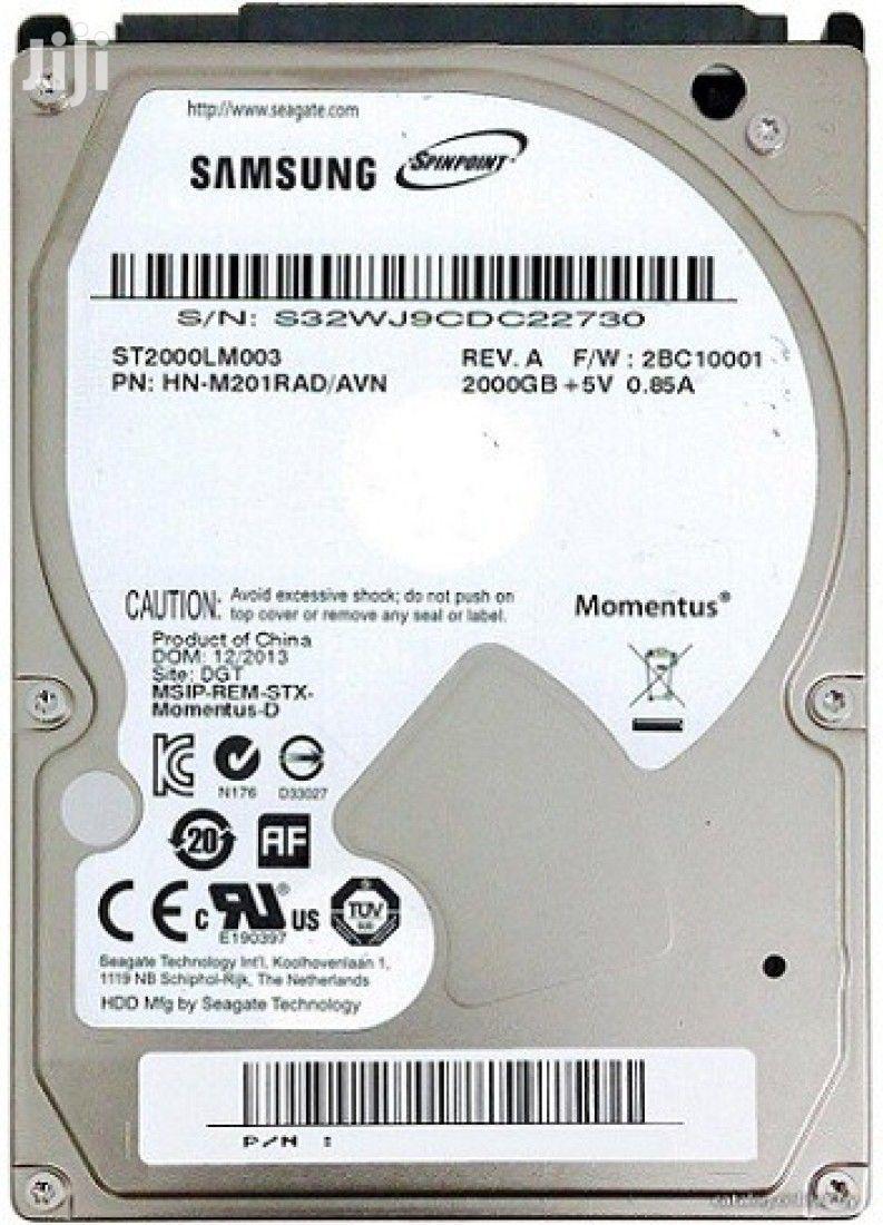 Archive: Samsung 2TB (2000GB) External Hard Disk