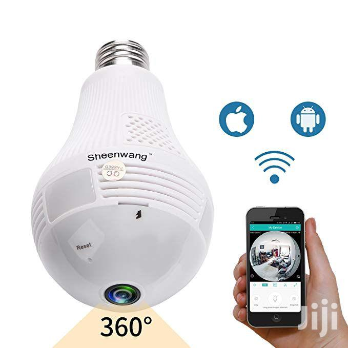 CCTV Camera Wi-Fi Panoramic Bulb 360°   Security & Surveillance for sale in Ilala, Dar es Salaam, Tanzania
