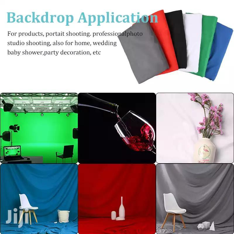 Video And Photo Studio Backdrop, 100% Cotton 3mx6m Muslin | Accessories & Supplies for Electronics for sale in Kinondoni, Dar es Salaam, Tanzania