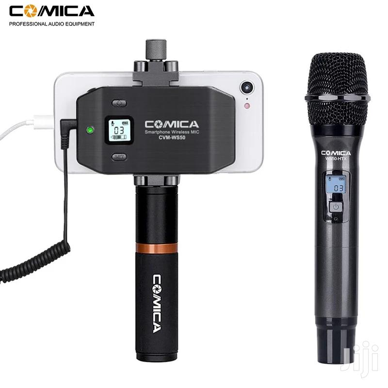Comica CVM-WS50(H) Wireless Handheld Microphone System