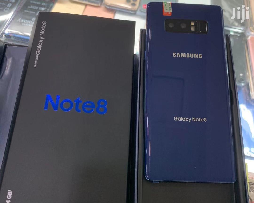 New Samsung Galaxy Note 8 256 GB Black