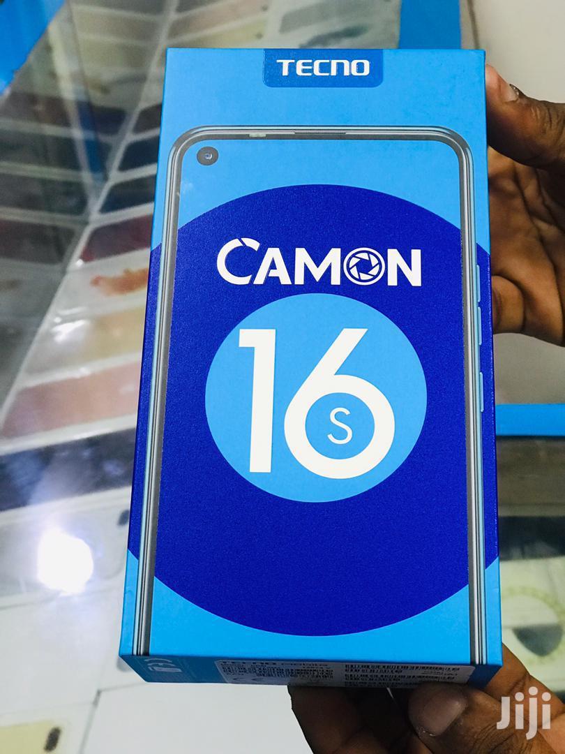Archive: New Tecno Camon 16S 128 GB Black