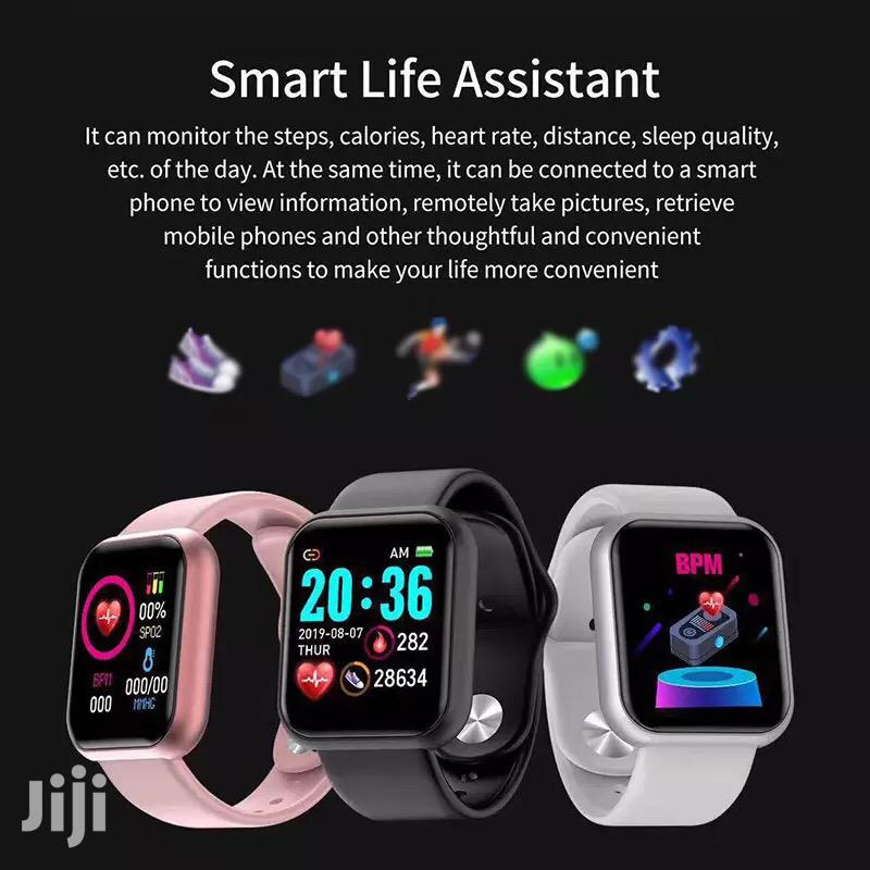 Y68 Smart Bracelet Watches | Smart Watches & Trackers for sale in Kinondoni, Dar es Salaam, Tanzania