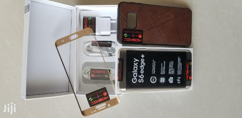 New Samsung Galaxy S6 Edge Plus 32 GB Gray | Mobile Phones for sale in Kinondoni, Dar es Salaam, Tanzania