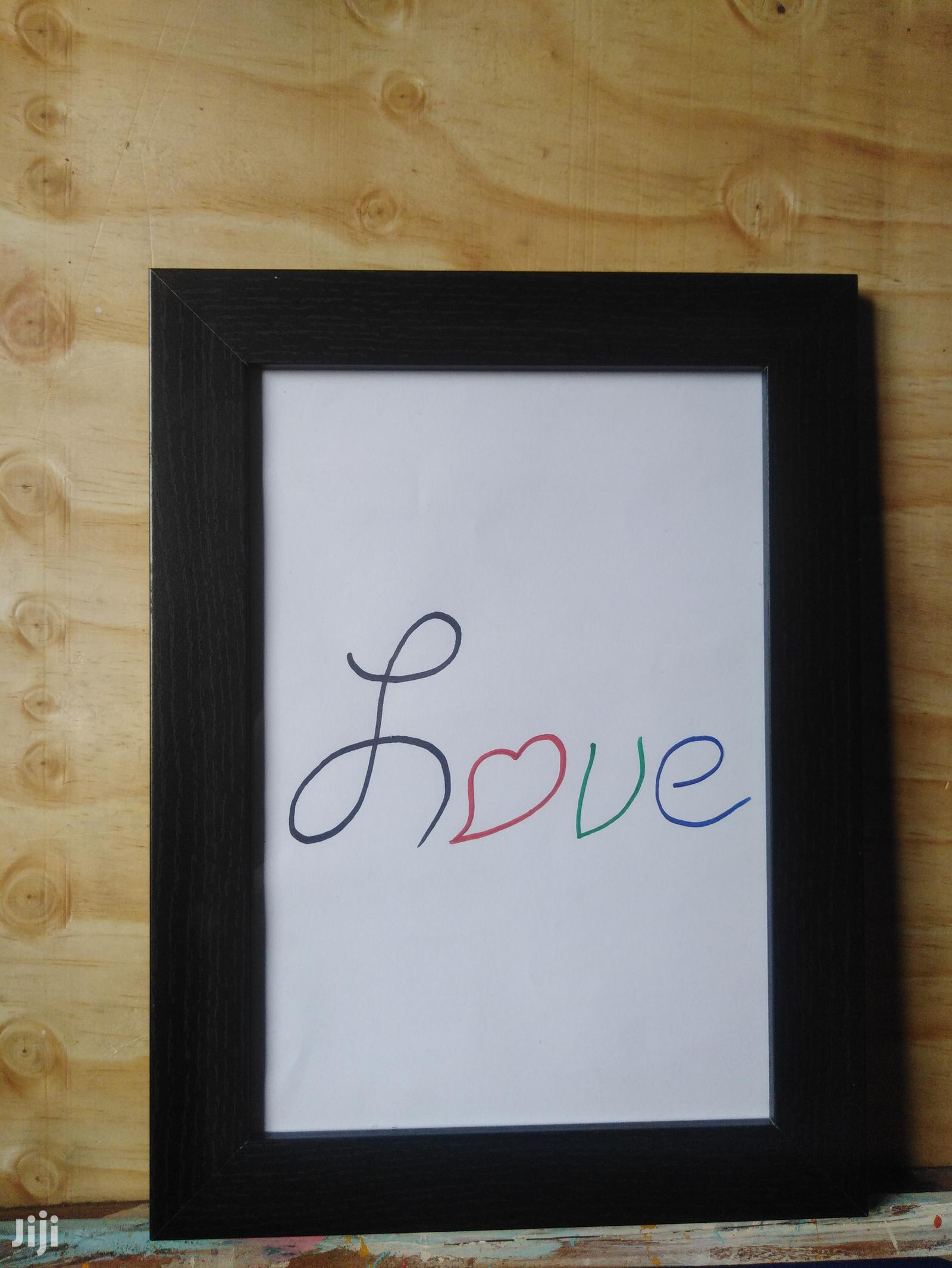 Archive: Hand Letter Sketch