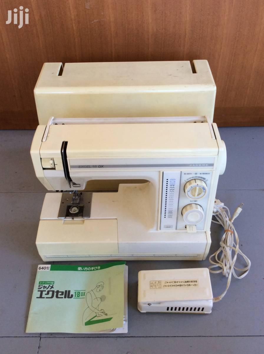 Excel 18dx Sewing Machine