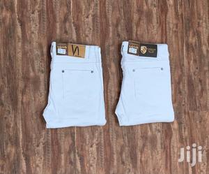 Karibu Ujipatie Jeans Nyeupe Plain | Clothing for sale in Dar es Salaam, Ilala