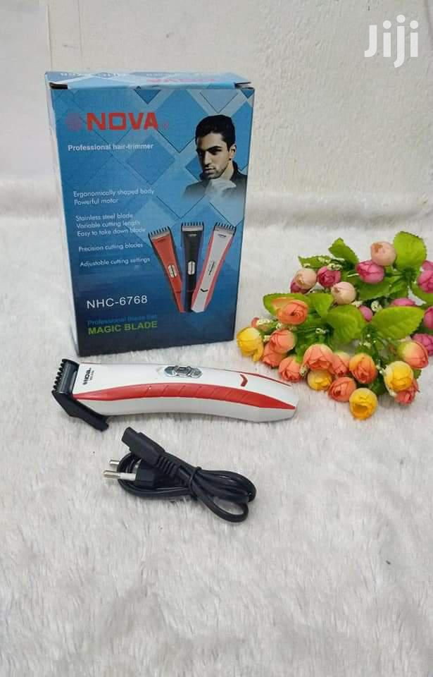 Nova Rechargable Professional Hair Trimmer CH6768