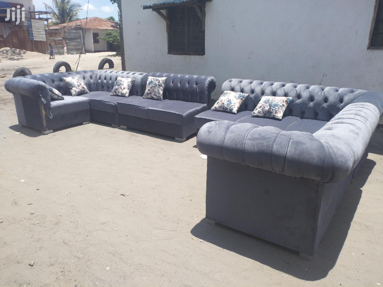 Chesterfield L-Shape Design (11 Seats) | Furniture for sale in Temeke, Dar es Salaam, Tanzania