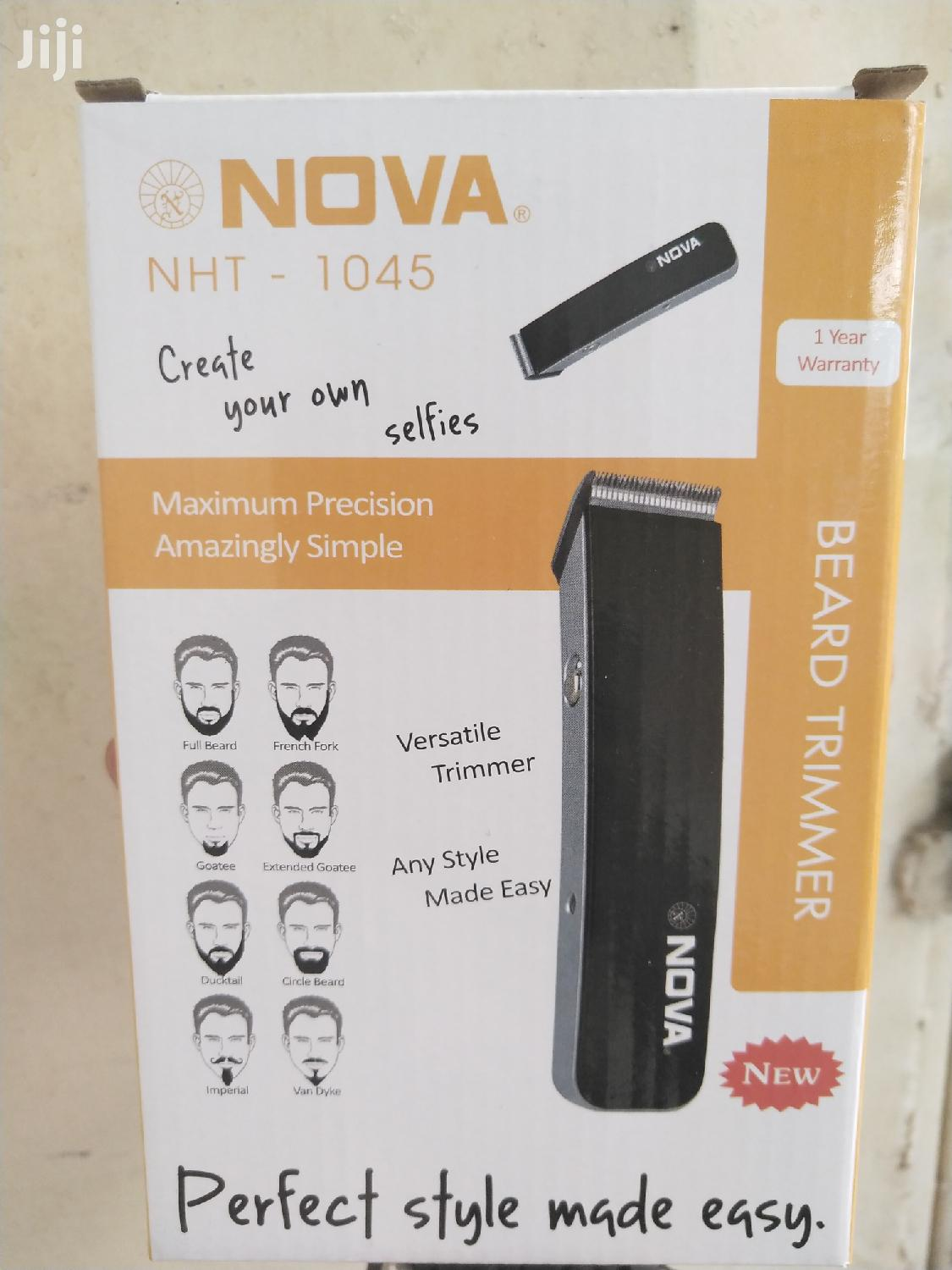 Nova Rechargable Professional Hair Trimmer NHT1046 | Tools & Accessories for sale in Ilala, Dar es Salaam, Tanzania