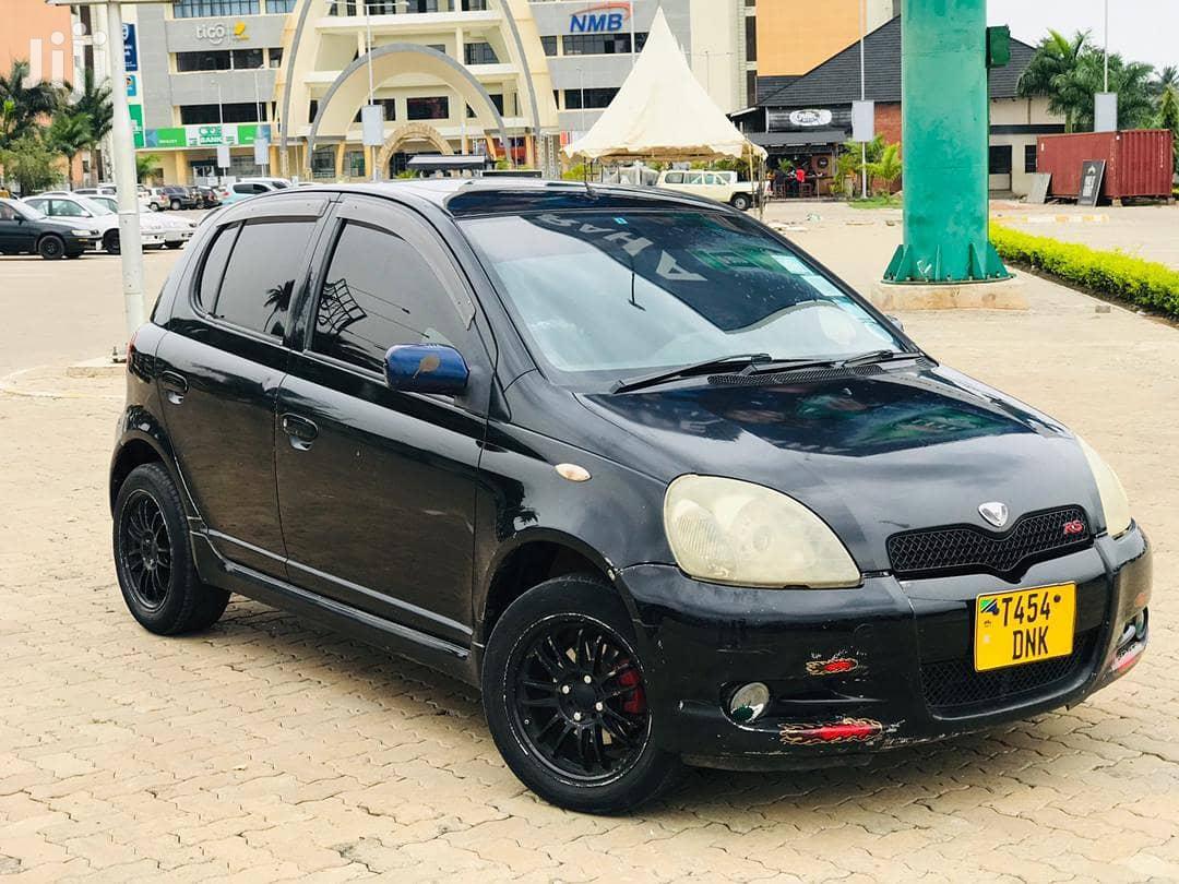 Archive: Toyota Vitz 2003 Black