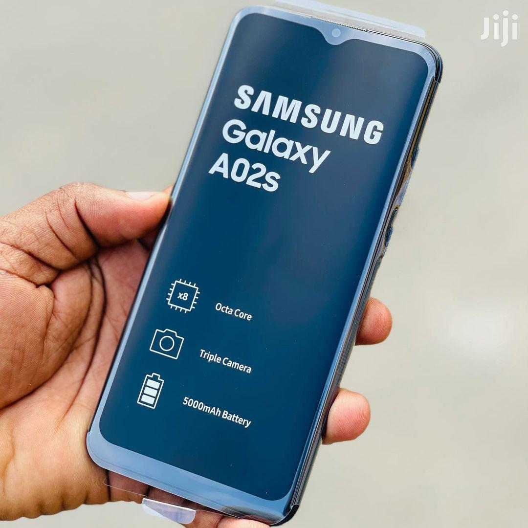 New Samsung Galaxy A02S 32 GB Blue | Mobile Phones for sale in Ilala, Dar es Salaam, Tanzania