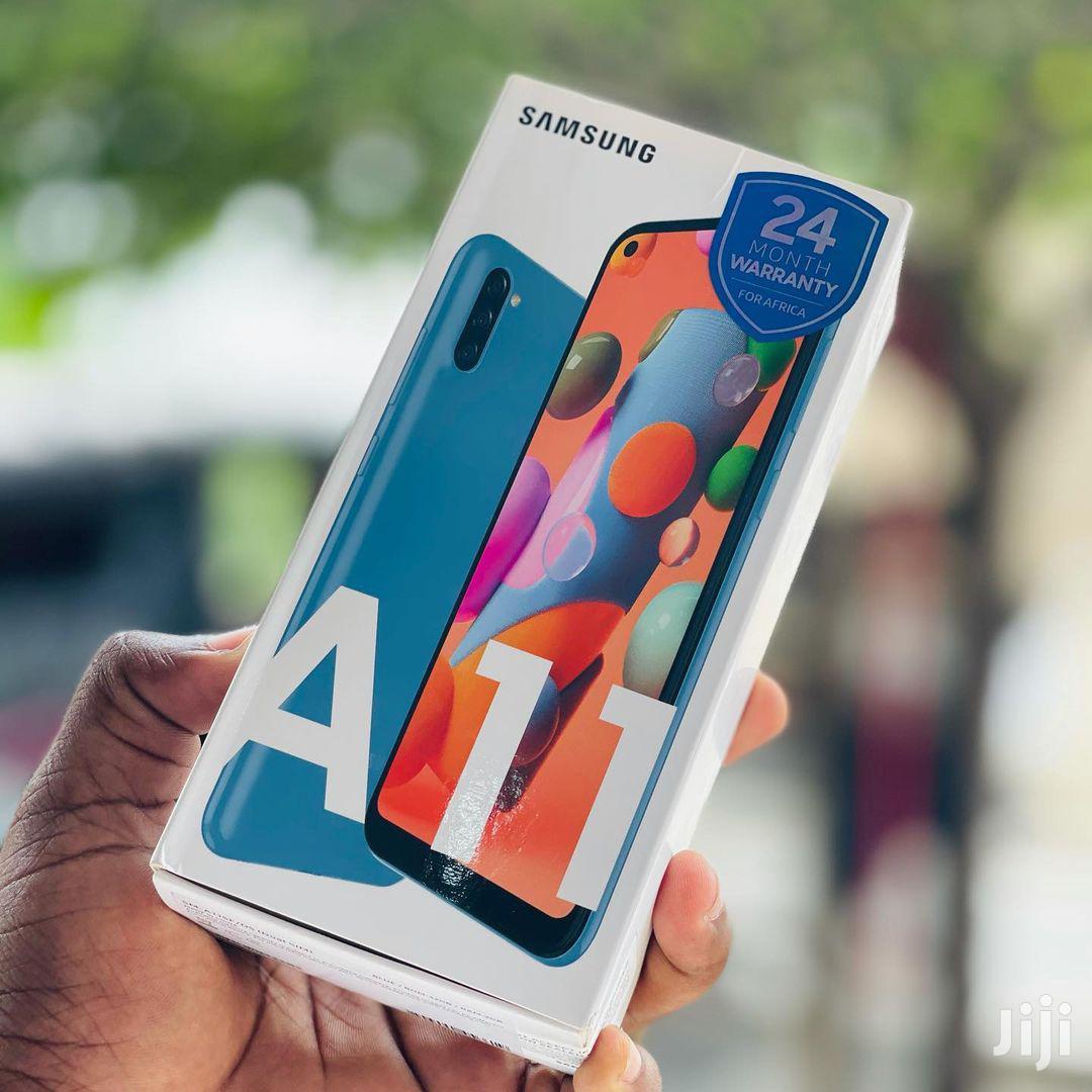New Samsung Galaxy A11 32 GB Blue | Mobile Phones for sale in Ilala, Dar es Salaam, Tanzania
