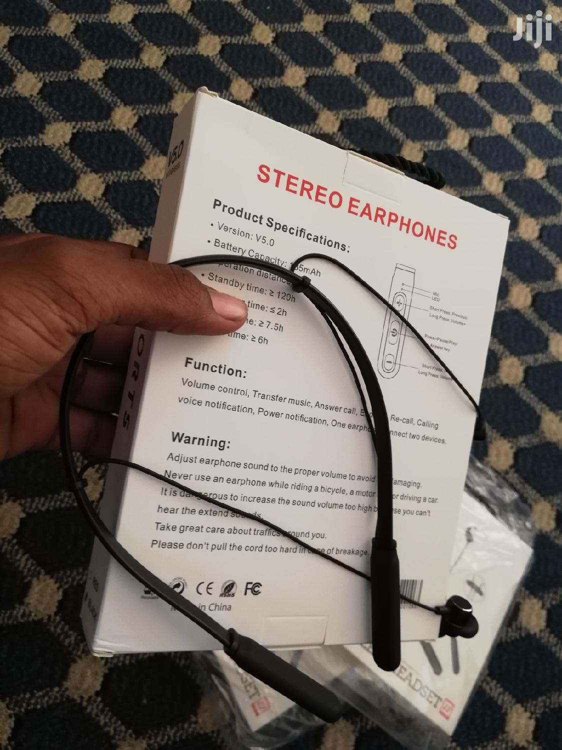 Wireless Neckband | Headphones for sale in Kinondoni, Dar es Salaam, Tanzania