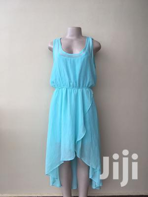 Aqua Blue High Low Dress | Clothing for sale in Morogoro Region, Morogoro Rural