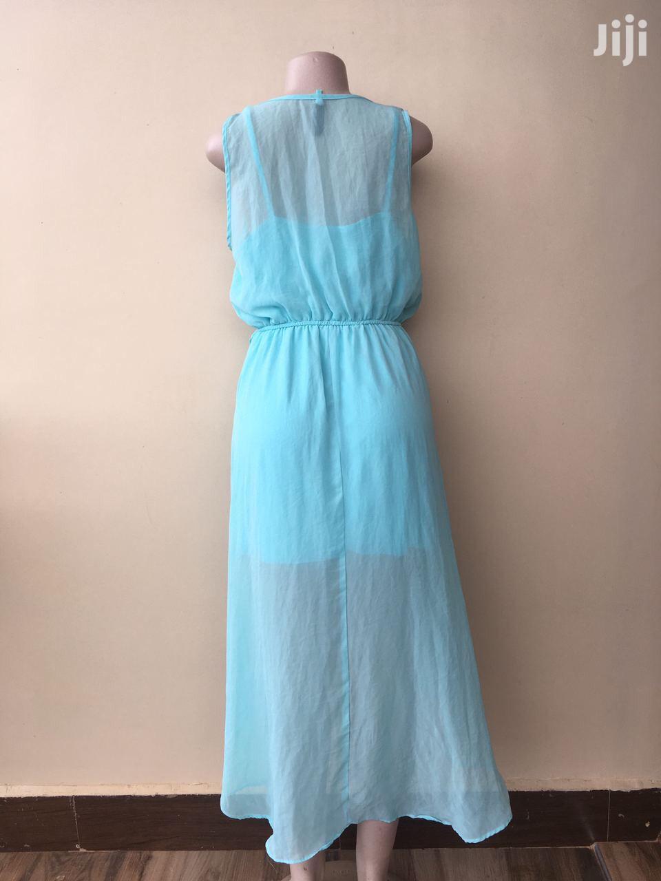 Aqua Blue High Low Dress | Clothing for sale in Morogoro Rural, Morogoro Region, Tanzania