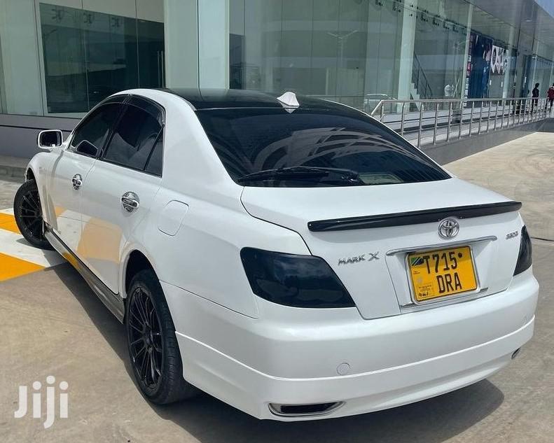 Toyota Mark X 2005 White | Cars for sale in Kinondoni, Dar es Salaam, Tanzania