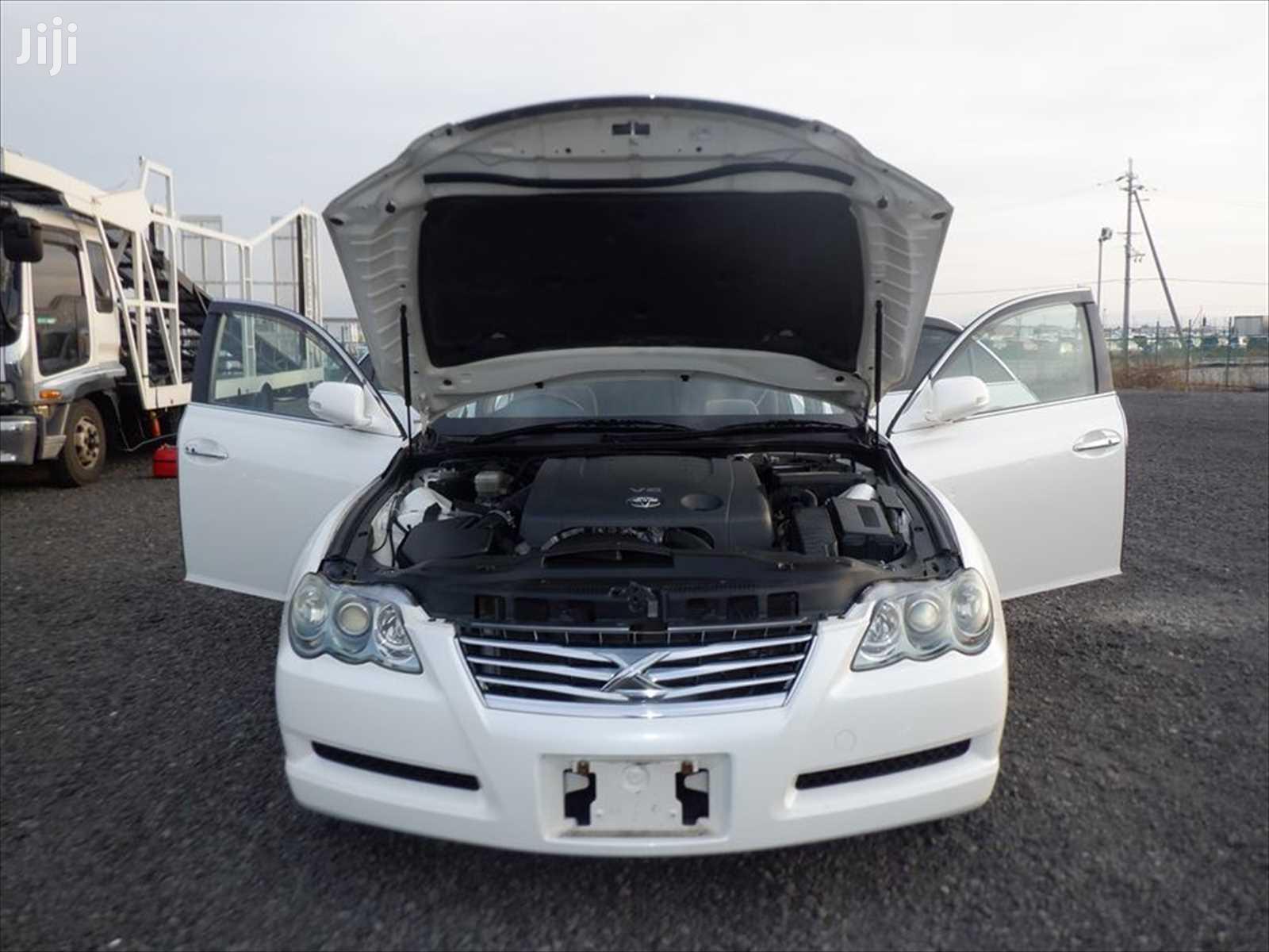 Archive: Toyota Mark X 2008 White