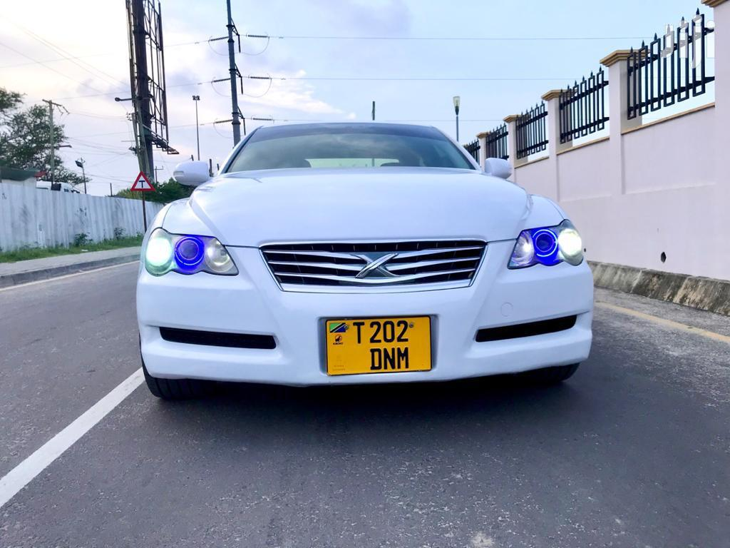 Archive: Toyota Mark X 2007 White