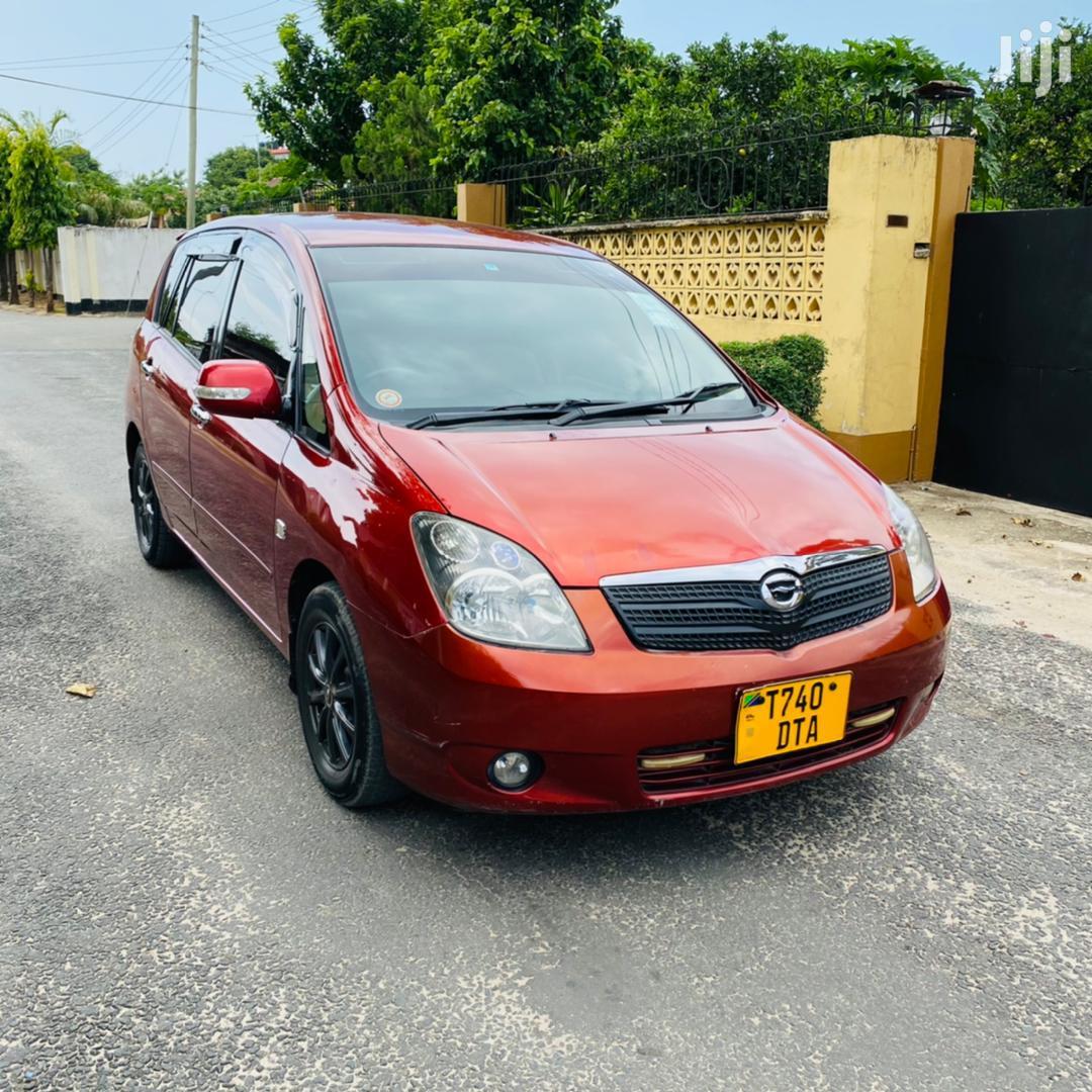 Archive: Toyota Corolla Spacio 2003 Red