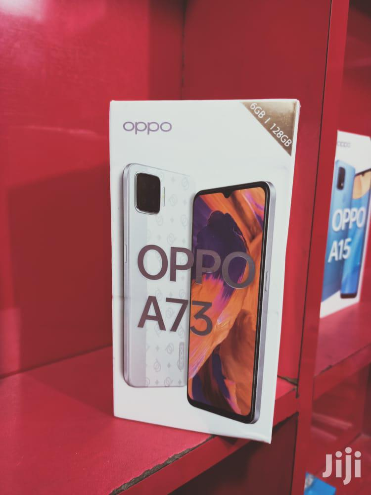 New Oppo A73 128GB White | Mobile Phones for sale in Ilala, Dar es Salaam, Tanzania