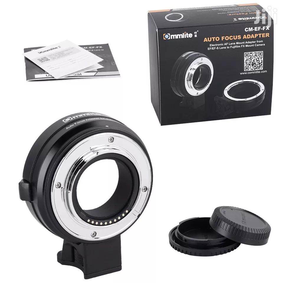 Commlite CM-EF-FX Electronic AF Lens Mount Adapter | Accessories & Supplies for Electronics for sale in Kinondoni, Dar es Salaam, Tanzania