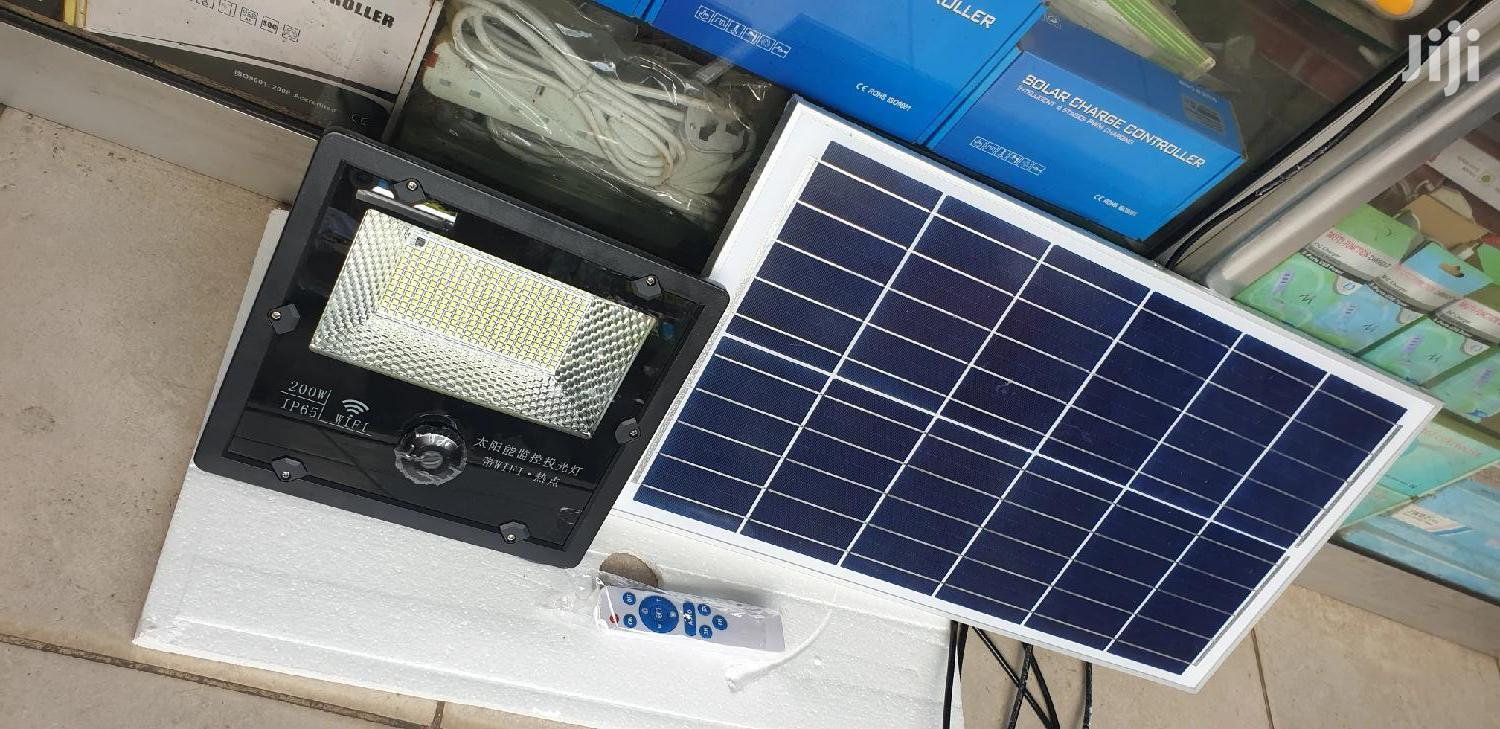 Solar Security Light With Camera 200W