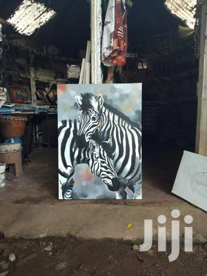 Zebra Couple Painting | Arts & Crafts for sale in Arusha Region, Arusha